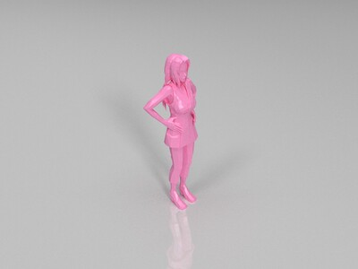 火影忍者-纲手-3d打印模型