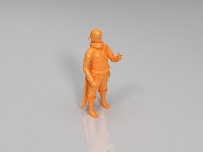 火影忍者-奇拉比-3d打印模型