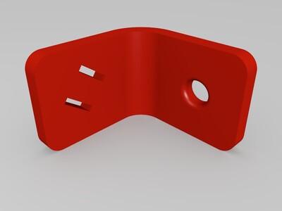 马达固定架-3d打印模型