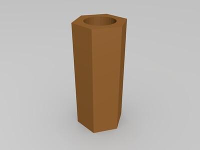 隔离柱-3d打印模型