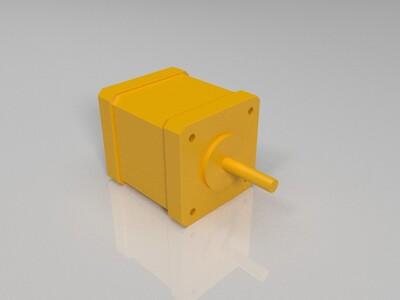 步进电机-3d打印模型