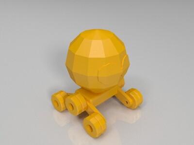 机器人小车 -3d打印模型