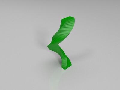 长方形的线性拉伸 -3d打印模型
