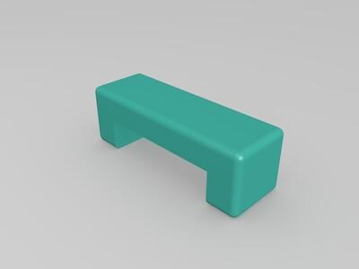 3D打印机桥接测试-3d打印模型