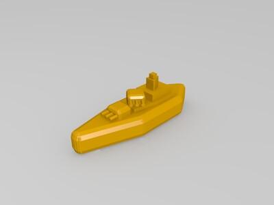 战船-3d打印模型