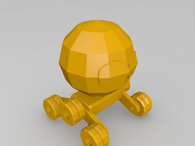 机器人小车-3d打印模型