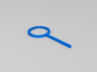 肥皂泡泡棒-3d打印模型