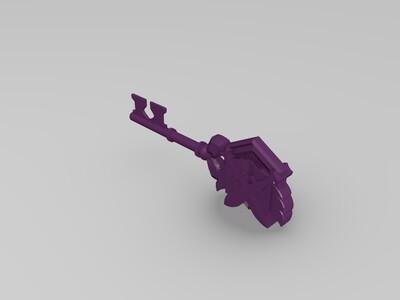 炉石传说竞技场钥匙-3d打印模型
