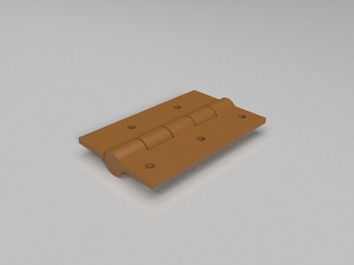 合页 -3d打印模型