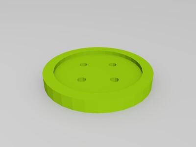 纽扣-3d打印模型