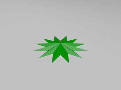 多角的星星