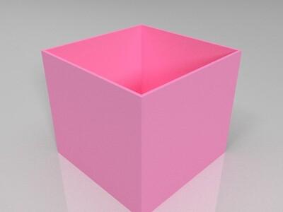 简单盒子-3d打印模型