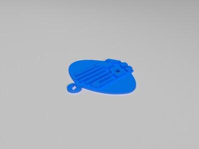 挂件-税-3d打印模型