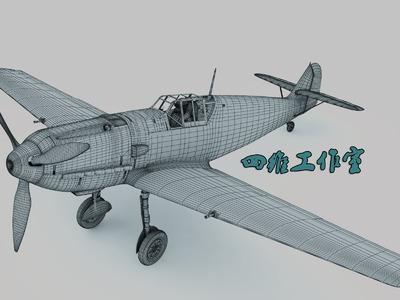 梅109战斗机-3d打印模型