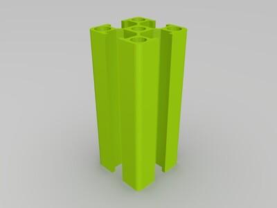 2525型材-3d打印模型