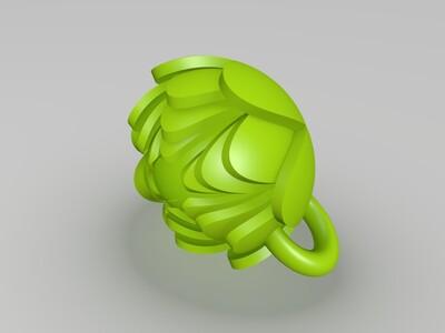 花蕊-3d打印模型