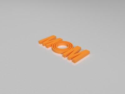 mom-3d打印模型