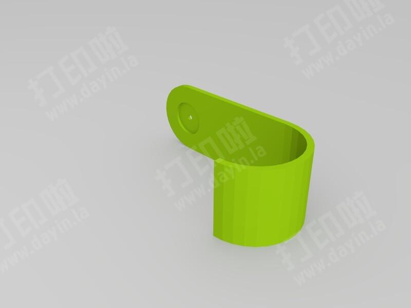 简单的挂钩-3d打印模型
