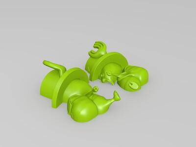 托尼托尼乔巴-3d打印模型