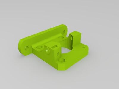 可靠的远程挤出机-3d打印模型