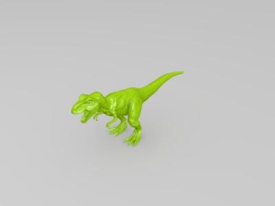 简易 容易打印的霸王龙-3d打印模型