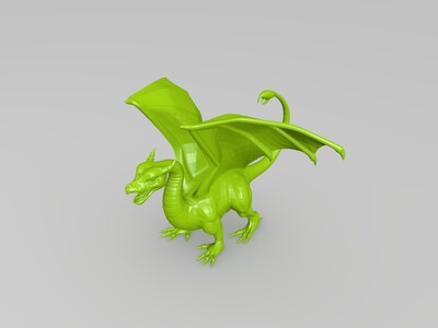 飞龙 不带支撑版-3d打印模型