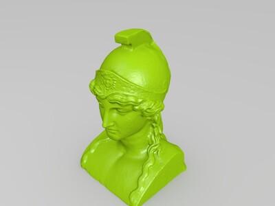 雅典娜-3d打印模型