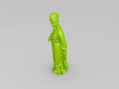孔明-3d打印模型