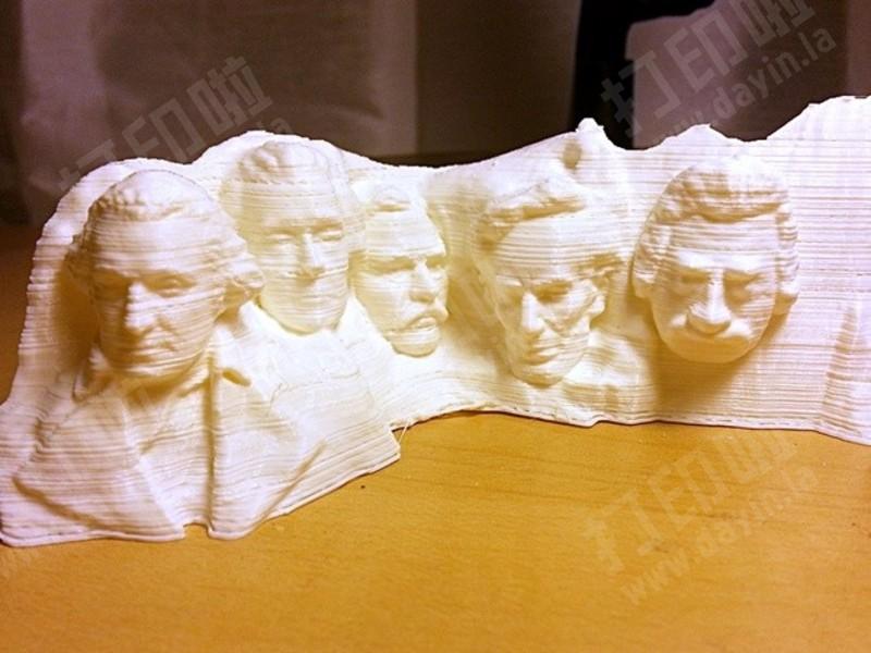 总统山-3d打印模型