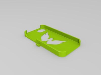 雄鹰iphone4手机壳-3d打印模型