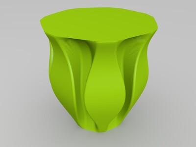 艺术杯子-3d打印模型