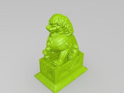 沧州铁狮子-3d打印模型