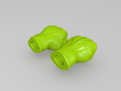 钢铁神拳-3d打印模型