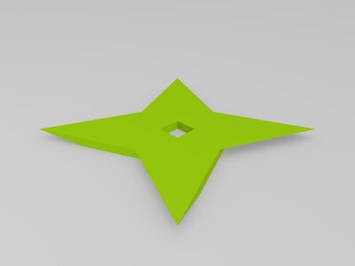 忍者飞镖-3d打印模型