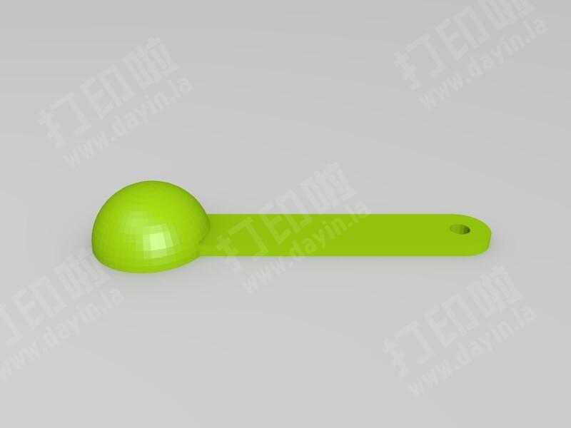 小勺子-3d打印模型