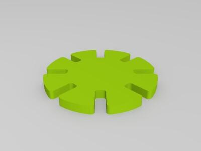 拼装筹码-3d打印模型