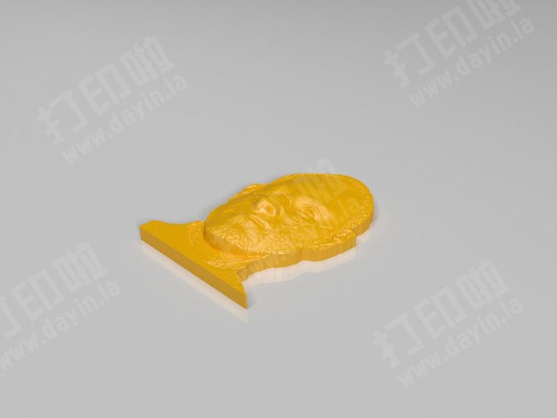 乔布斯-3d打印模型