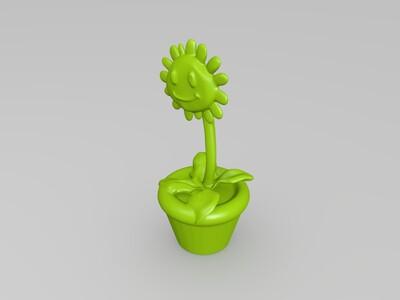 太阳花-植物大战僵尸