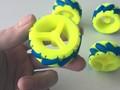 智能小车(N20电机 麦克纳姆轮+底板)-3d打印模型