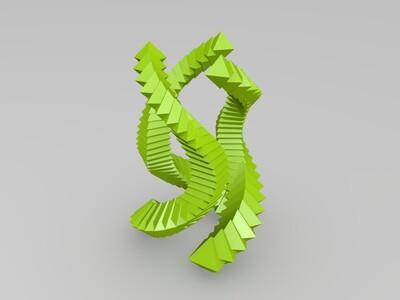 蟒蛇-3d打印模型