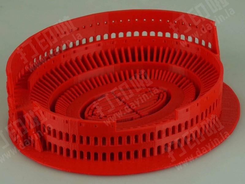 罗马角斗场-3d打印模型