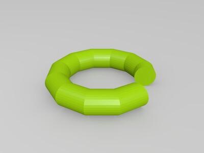圆环-3d打印模型