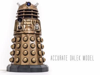 Dalek机器人-3d打印模型
