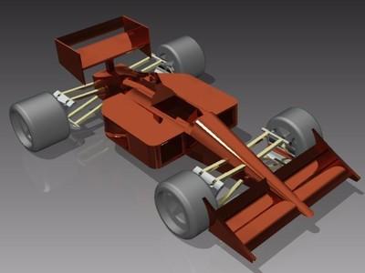 方程式赛车-3d打印模型