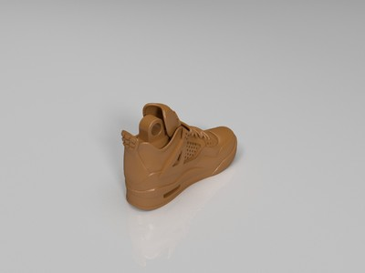 耐克鞋 挂件4-3d打印模型