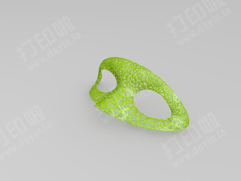 鹰眼面具-3d打印模型