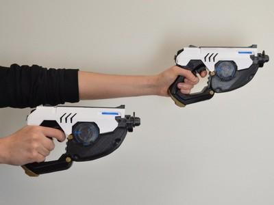 猎空的冲锋枪-3d打印模型