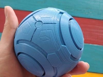 禅雅塔的佛珠-3d打印模型