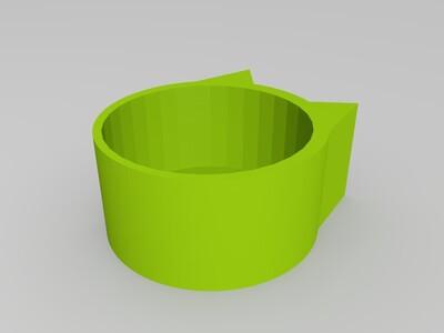 猫碗-3d打印模型