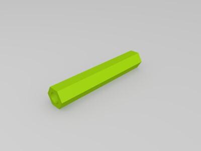手指纸巾架-3d打印模型
